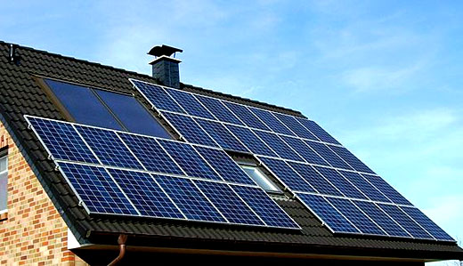 Incentives for home solar installation